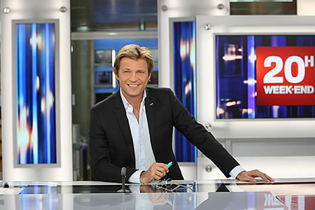 Laurent Delahousse quitte le 13 heures de France 2 (week-end)