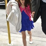 Suri Cruise a ft ses 7 ans avec Katie Holmes  New-York
