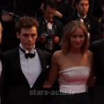 Cannes : Jennifer Lawrence et Liam Hemsworth sur le tapis rouge