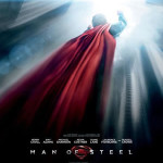 Nouvelle affiche de Superman « Man of Steel » (PHOTO)