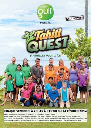 Lancement r ussi pour tahiti quest avec benjamin castaldi stars actu - A2 replay on est pas couche ...