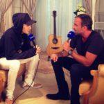 Justin Bieber en interview avec Nikos Aliagas