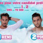 Secret Story 9 : Rémi et Tony nominés (SONDAGE)