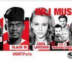 Le NRJ Music Tour à Paris le 12 octobre