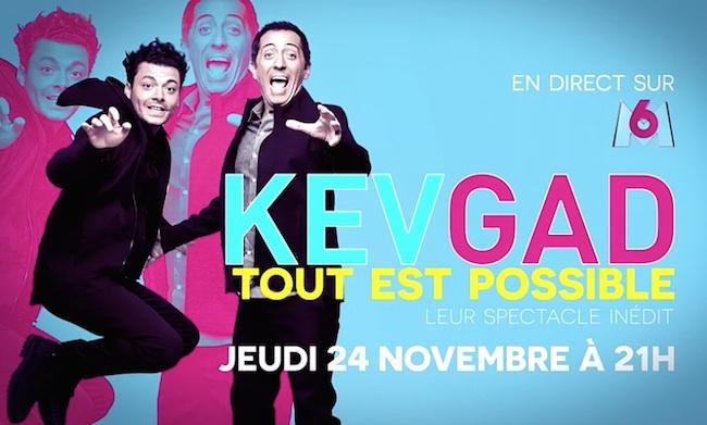 """Ce soir à la télé, """"Kev et Gad : tout est possible"""" en direct sur M6"""