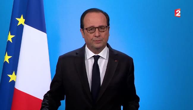 Présidentielle 2017 : François Hollande ne se représentera pas (VIDEO)