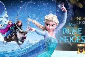"""La Reine des Neiges - Capture écran M6 © The Walt Disney Company"""""""