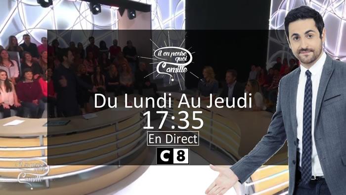 Audience «Il en pense quoi Camille?» : 449.000 téléspectateurs la semaine dernière