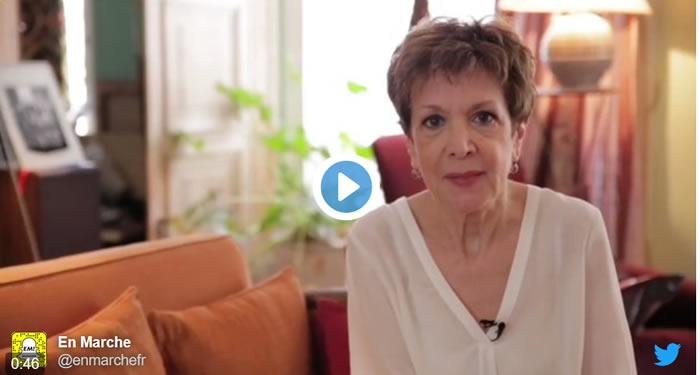 Catherine Laborde s'engage auprès d'Emmanuel Macron