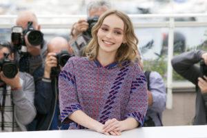 Lily-Rose Depp au Festival de Cannes 2016