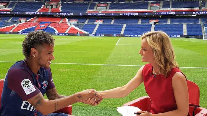 Neymar invité du 20h de TF1 pour son arrivée au PSG