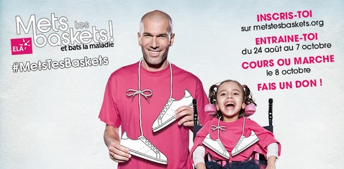 Zidane lance un défi sur les réseaux sociaux pour ELA