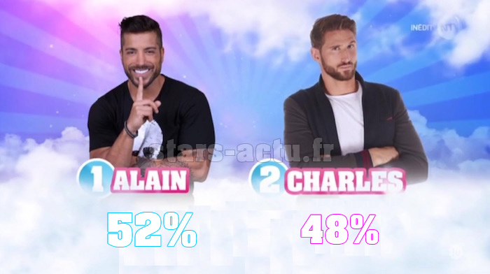 Secret Story 11 estimations : Alain légèrement devant Charles (SONDAGE)