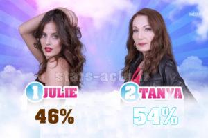 Secret Story 11 estimations : Tanya toujours en avance sur Julie (SONDAGE)