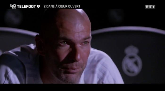 Téléfoot : les larmes de Zinédine Zidane (VIDEO et REPLAY du 3 septembre)