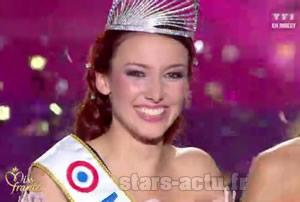 Delphine Wespiser Miss France 2012 - Capture TF1