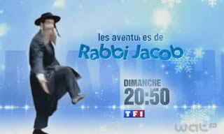 Rabbi Jacob (capture écran TF1)