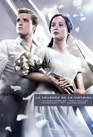 Hunger Games 2 : les affiches de la tournée de la victoire