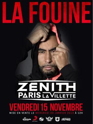 La Fouine au Zénith de Paris