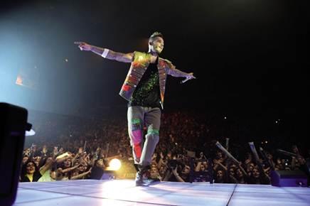 Le concert de Matt Pokora à Bercy
