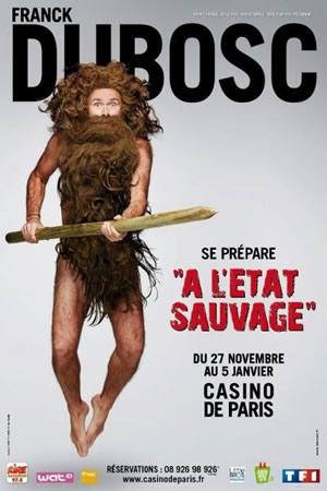 Affiche du spectacle au Casino de Paris (DR)