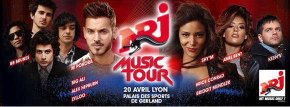 concert NRJ Music Tour à Lyon