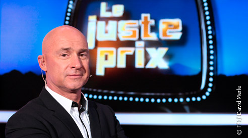 """Vincent Lagaf' dans """"Le juste prix"""" sur TF1"""