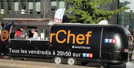Le foodtruck Masterchef sur les routes de France