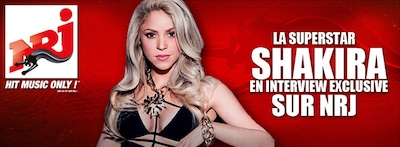 Shakira en interview exclusive sur NRJ