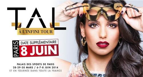 Tal ajoute un 6ème concert à Paris