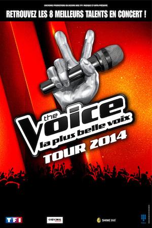 Tournée The Voice 2014