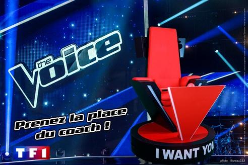 The Voice : venez prendre la place des coachs !