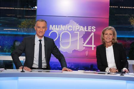 Municipales 2014 : TF1 en tête