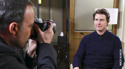"""Interview exclusive de Tom Cruise par Nikos dans """"50mn inside"""""""