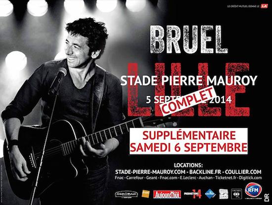 Patrick Bruel : son concert à Lille diffusé en direct sur TF1