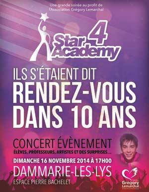 Affiche du concert (DR)