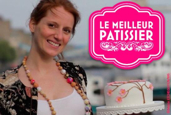 Anne-Sophie gagnante du Meilleur Pâtissier 2014
