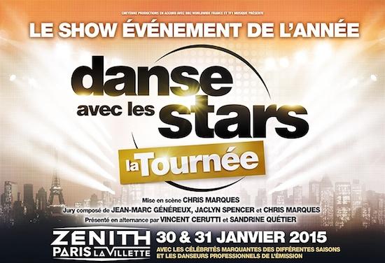 Danse avec les Stars : la tournée 2015