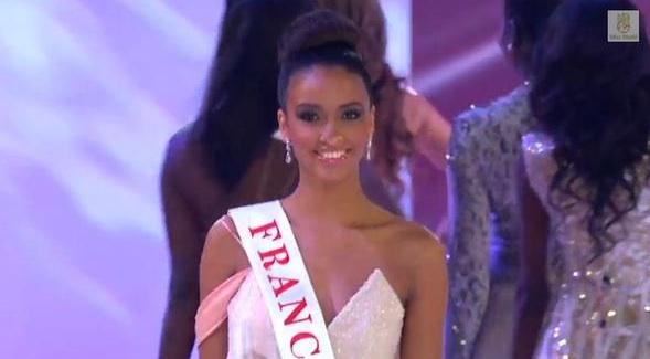 Capture YouTube/Miss world