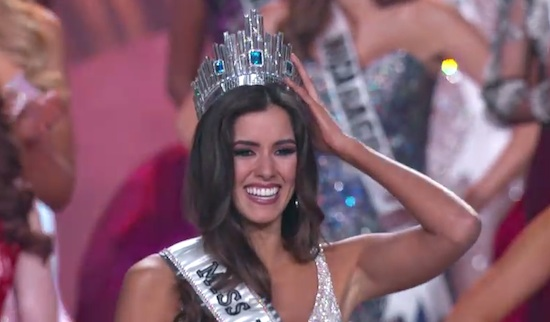 Miss Univers 2014/ Capture YouTube