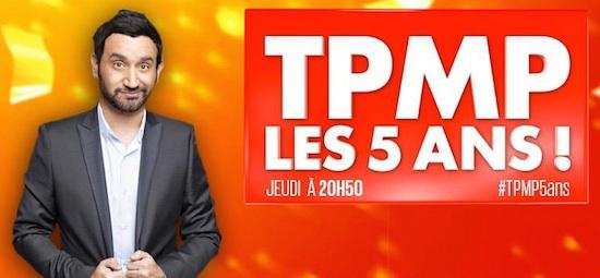Ce soir à la télé : Cyril Hanouna fête les 5 ans de TPMP