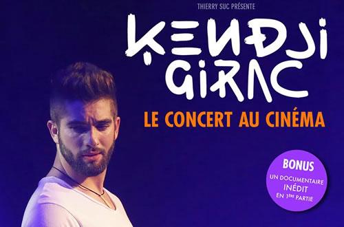 Kendji Girac : son concert au cinéma le 17 septembre