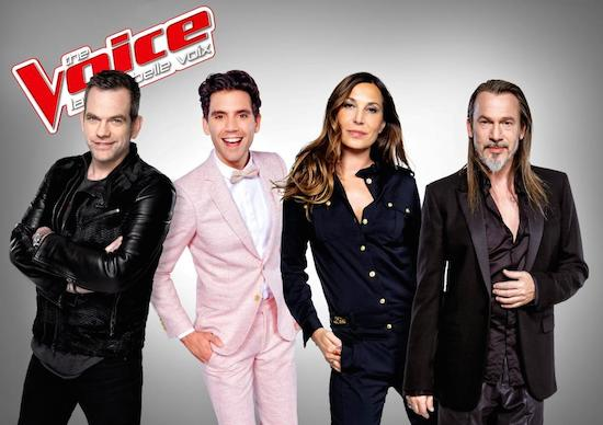 The Voice 5 : Garou, Florent Pagny, Mika et Zazie