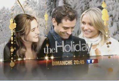 """Audiences du 27 décembre : TF1 en tête avec """"The Holiday"""""""