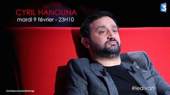 Ce soir à la télé : Cyril Hanouna dans Le divan de Marc-Olivier Fogiel