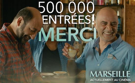 """""""Marseille"""" : déjà plus de 500.000 entrées pour le film de Kad Merad"""