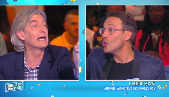 """Quand TPMP déglingue """"L'Hebdo Show"""" d'Arthur (VIDEO)"""