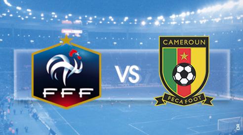 Ce soir à la télé : match de football France / Cameroun