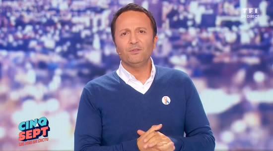 """capture écran """"Cinq à Sept avec Arthur"""" TF1"""