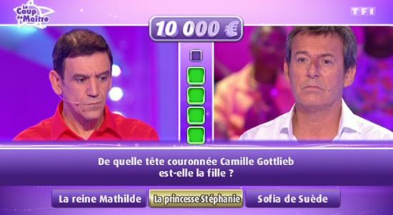 Les 12 coups de midi avec Christian (capture écran TF1)